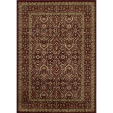 Belmont Red Area Rug