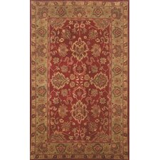 Petra Red Agra Rug