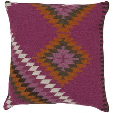 Tranquil Tribal Throw Pillow