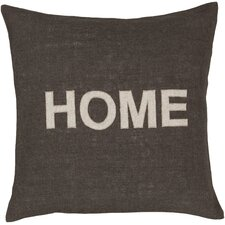 Hot Home Jute Throw Pillow
