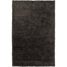 Venetian Charcoal Solid Area Rug