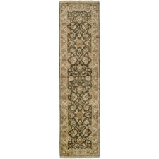 Timeless Green Oriental Area Rug