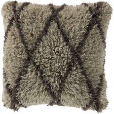 Divine Diamond Wool Throw Pillow