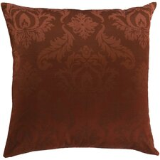 Divine in Damask Cotton Throw Pillow