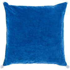 Vivacious Velvet Cotton Throw Pillow