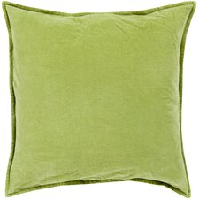 Smooth Velvet Cotton Throw Pillow