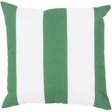 Rain Awning Stripe Outdoor Throw Pillow