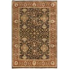 Timeless Brown Oriental Area Rug