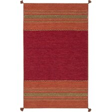 Trenza Rust/Chocolate Area Rug