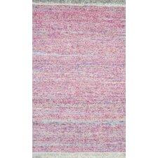 Rex Pastel Pink Area Rug