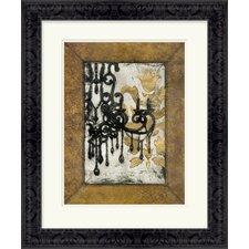 Antique Chandelier I by Vision Studio Framed Graphic Art