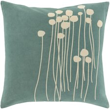 Meadow Cotton Throw Pillow