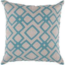 Divine Diamond Linen Throw Pillow