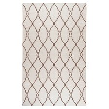 Fallon Ivory/Golden Brown Area Rug