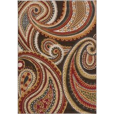 Monterey Red Area Rug