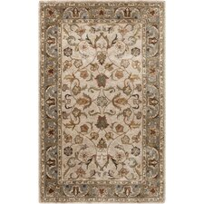 Brilliance Feather Gray Area Rug