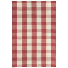 Mercia Scarlet Striped Rug