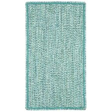 Sea Pottery Blue Variegated Outdoor Area Rug