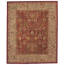 Forest Park Persian Cedars Red Area Rug