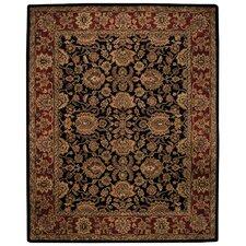 Piedmont Persian Black/Red Area Rug