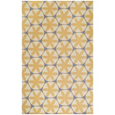 Charlotte Yellow Area Rug