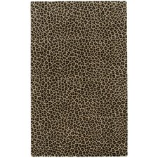 Expedition Brown Leopard Area Rug