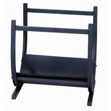 Wrought Iron U Shape Log Rack