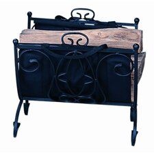Wrought Iron Log Holder