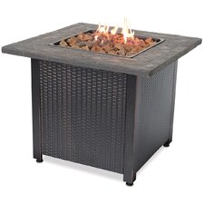 Stainless Steel Gas Outdoor Fireplace