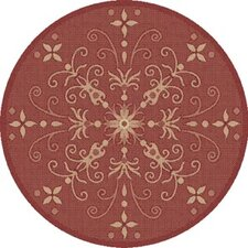 Piazza Red Indoor/Outdoor Area Rug