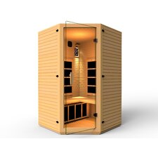 Vivo 2-3 Person Corner Carbon FAR Infrared Sauna