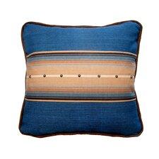 Hudson Cobalt & Tuscany Denim Cotton Throw Pillow
