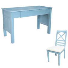 Palmetto Beach Writing Desk with Chair