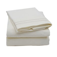 Madame Marie 1500 Thread Count Polyester Microfiber Sheet Set
