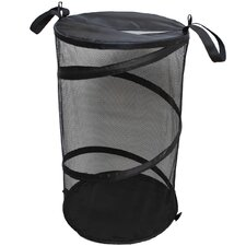 Collapsible Nylon Hamper