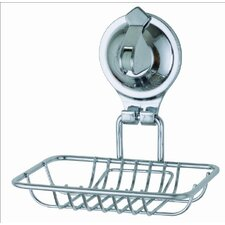Popular Tailor Locking Suction Cup Wall Mounted Bathroom Soap Dish