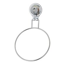 Popular Tailor Locking Suction Cup Wall Mounted Bathroom Towel Ring