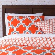 Quatrefoil Comforter Set