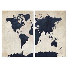 Globetrotter Wall Art Set