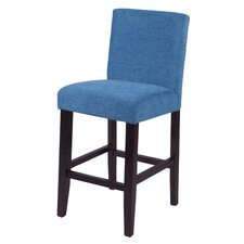 "Ara 23"" Bar Stool with Cushion (Set of 2)"