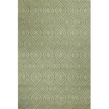 Elements Light Green Area Rug