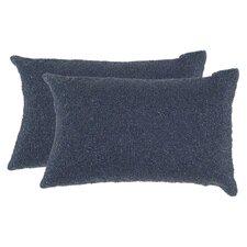 Navy beaded decorative pillows (Set of 2)