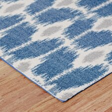 Iris Area Rug in Navy