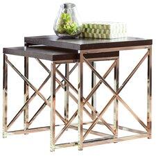 Rigel 2 Piece Nesting Table Set