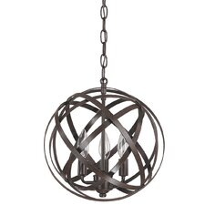 3 Light Globe Pendant