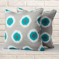Indoor/Outdoor Throw Pillow (Set of 2)