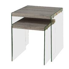 Gaynor 2 Piece Nesting Table