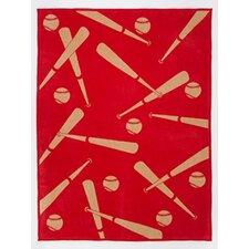 Home Run Cotton Blend Blanket