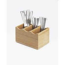 Bamboo Flatware Display