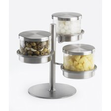 Mixology 3 Tier Jar Holder with Lid
